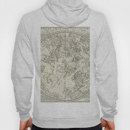 Antique Northern Celestial Hemisphere Map Hoody