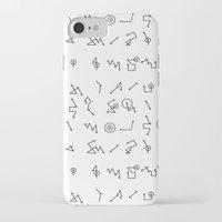 alphabet iPhone & iPod Cases featuring ALPHABET  by Mansken