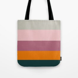 First Day of University Mauve & Suede Pattern Tote Bag
