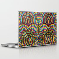 moroccan Laptop & iPad Skins featuring Moroccan Style by Pom Graphic Design