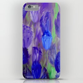 Breaking Dawn in Shades of Deep Blue and Purple iPhone Case