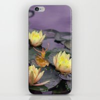 tinker bell iPhone & iPod Skins featuring tinker bell & tiger lilies by EnglishRose23