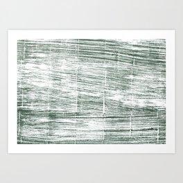Dolphin Gray abstract watercolor Art Print