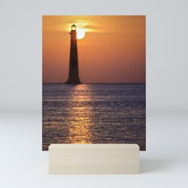 Morris Island Lighthouse Mini Art Print