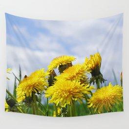 Dandelion meadow Wall Tapestry