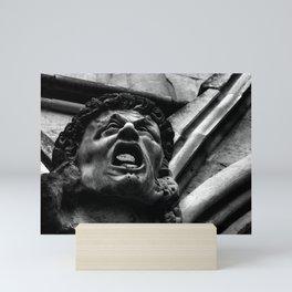Salisbury Cathedral - Agony Of The Biting Imps Mini Art Print