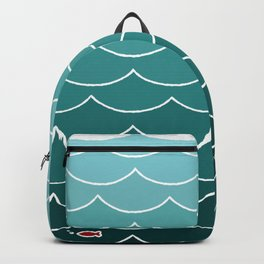 Deep Ocean Fish Backpack