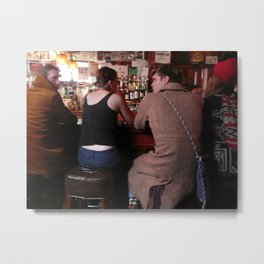 The Tragically Hip of North Beach, SF Metal Print