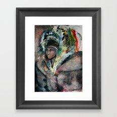 Warrior Portrait Framed Art Print