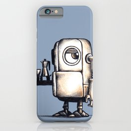 Robot Espresso #2 iPhone Case