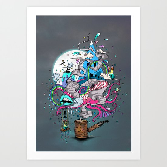 Pipe Dreams Art Print