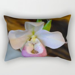 Lady's Slipper by Teresa Thompson Rectangular Pillow