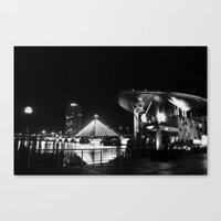 river song Canvas Prints featuring Song Han river by boxphone