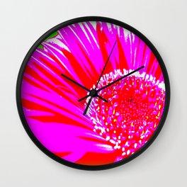 Daisy Pop Wall Clock