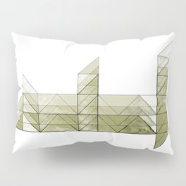 Congruence of Triangles in Light Green Pillow Sham