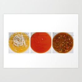 All American Ingredients - Cambell's Art Print