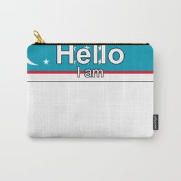 Hello I am from Uzbekistan Carry-All Pouch