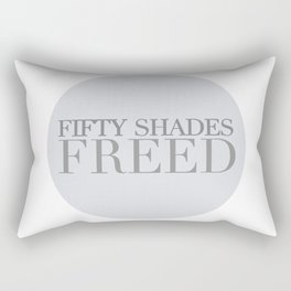 fifty shades freed Rectangular Pillow