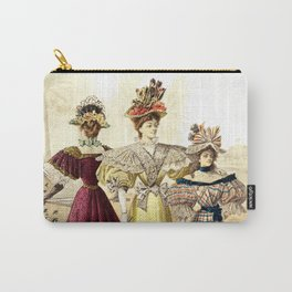Victorian Ladies Vintage Design Carry-All Pouch