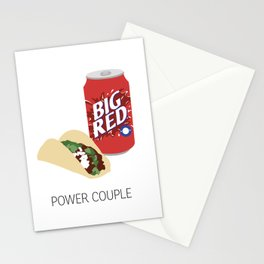 Barbacoa & Big Red Stationery Cards