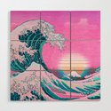 Vaporwave Aesthetic Great Wave Off Kanagawa by coitocg