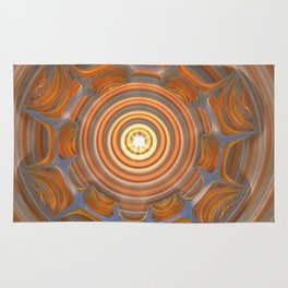 Something in My Other Eye  #3d #fractal #fractals #society6 Rug