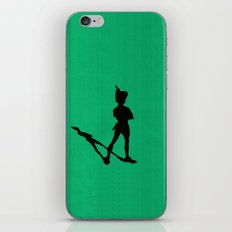 HE CAN FLY! (Peter Pan) iPhone & iPod Skin