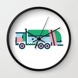 Garbage Truck Wall Clock