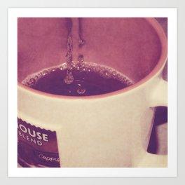 mmmmm, Coffee Art Print