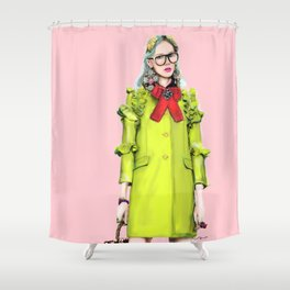Gucci's Girl Shower Curtain