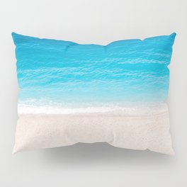 Alone On The Beach Pillow Sham