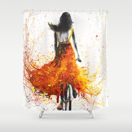 Finding Flames Shower Curtain