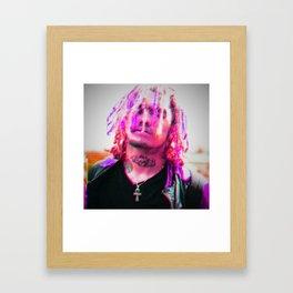 Lil Pump Framed Art Print