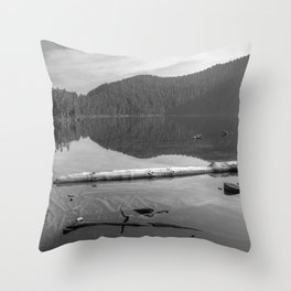Placid Lake Zen Throw Pillow