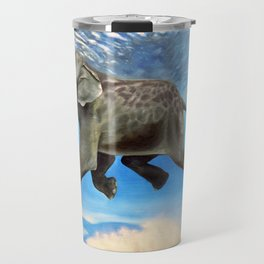 Rajan The Swimming Elephant Travel Mug