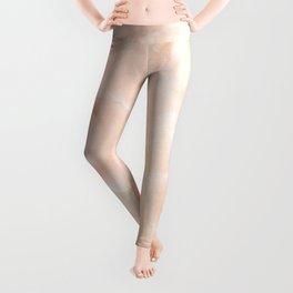 Pale Pink Marble Leggings