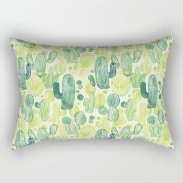 Cactus splash Rectangular Pillow