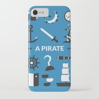ouat iPhone & iPod Cases featuring OUAT - A Pirate by Redel Bautista