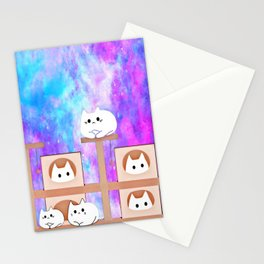cats tower 514 Stationery Cards