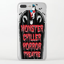 Monster Chiller Horror Theater Clear iPhone Case