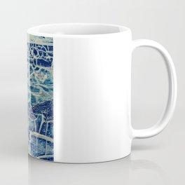 Blue-Yellow abstract Coffee Mug