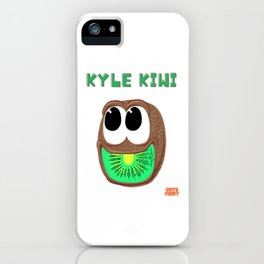 Kyle Kiwi - Cute Fruit  iPhone Case