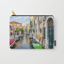 Watery Streets Venice, Italy Carry-All Pouch