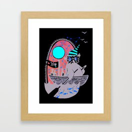 Smuggling Framed Art Print