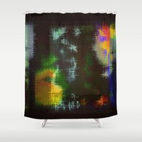 tapestry Shower Curtains featuring Tapestry by Pi-Isis S. Ankhra