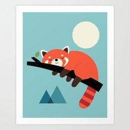 Nap Time Art Print