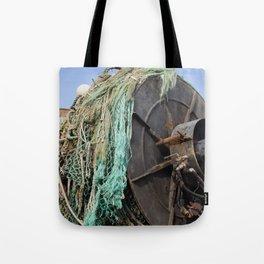 Astoria Fishing Boat Tote Bag