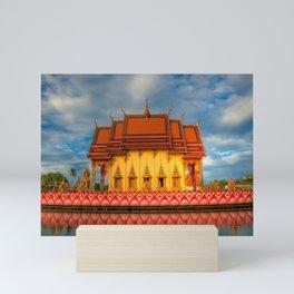 Pai Laem Temple Mini Art Print