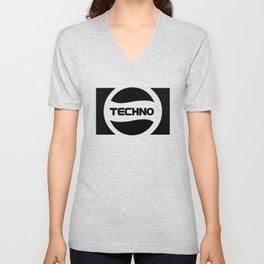 Techno Soda Parody Logo Unisex V-Neck