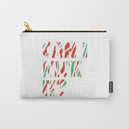 Can I Kick It (white) Carry-All Pouch